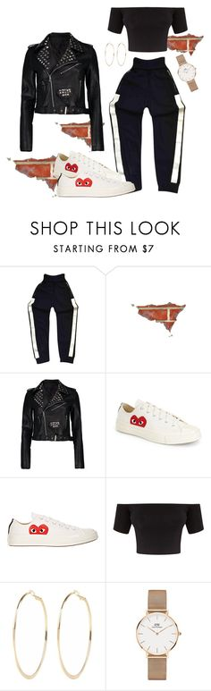 """""""Aaliyah"""" by laurelbeauty on Polyvore featuring Chanel, Boohoo, Comme des Garçons, River Island and Daniel Wellington"""
