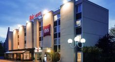 This is one of the many Ibis Hotels that are located all across Paris.