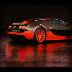 Fabulous Bugatti Veyron Super Sport