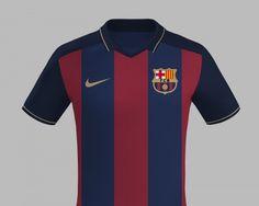 Barcelona / Nike Camisa Barcelona, Fc Barcelona, Flower Pens, Football Kits, Soccer Shirts, Fantasy Football, Messi, Polo Ralph Lauren, Nike