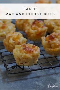 Baked Mac-and-Cheese Bites via @PureWow