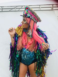 This epic Rainbow Moon Tinsel Jacket is sure to make a statement. It is perfect for festivals , summertime dancing or opting to shop I can make you a Tinsel Moon Jacket in any colour just message what colour you would like and I'll create you the most magical Jacket you have ever worn
