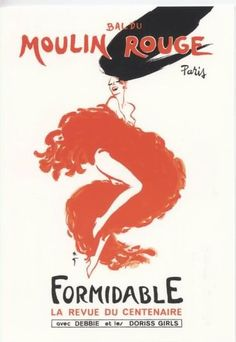 Moulin Rouge - Vintage Art Poster