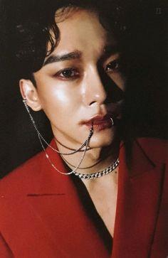 """these photocards really changed the game"" Exo Chen, Suho Exo, Kai, Piercings, Kim Jongdae, Exo Ot12, Xiu Min, Korean People, Exo Members"