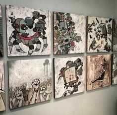 Mike Shinoda's art