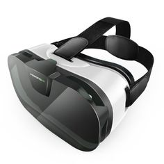 VersionTech Viewing Immersive Virtual Reality Headset VR Goggle Box Glasses for Movies Video Games, Compatible with iPhone 7 Plus/ Plus Samsung Galaxy Series and Other Smartphone Virtual Reality Viewer, Virtual Reality Goggles, Virtual Reality Headset, Microsoft, Slot, Iphone 7, Focal Distance, Technology World, Eyewear