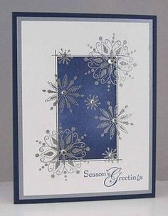 Christmas Cards | Card Making | Scrapbook Cards | Cards | Creative Scrapbooker Magazine #cardmaking #scrapbooking