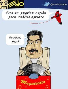"""""""Magnisuicidio"""" por Laureano Márquez http://shar.es/VDhUT #Venezuela #SOSVenezuela #Humor"""