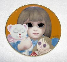 "Margaret Keane ""bedtime"" Collector Plate~1978 Third Ltd Edition"