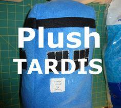 Plush TARDIS