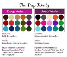 Apparently I am a Deep Winter after all. But can borrow from Deep Autumn. This was the most transparent color picker I have found so far.
