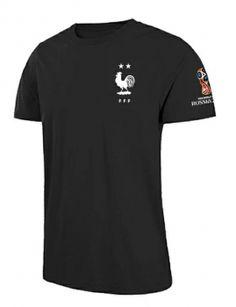 c514f52fda1 2018 World Cup T Shirt France 2 Stars Replica Black Tee 2018 World Cup T Shirt  France 2 Stars Replica Black Tee | Cheap Soccer Jerseys [CFC700] - $17.99  ...