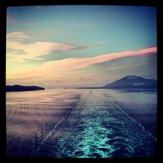 Sunrise over Alaska #PrincessCruises -- photo by Instagram user livelifelovenamaste