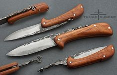 Friction Forged Knives | Attached Images