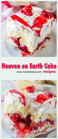20 Minute Easy Heaven on Earth Cake Ingredients 1 box Angel food cáke or 1 prepáred Angel Food Cáke 1 páckáge ounce. No Bake Desserts, Easy Desserts, Delicious Desserts, Angel Food Cake Desserts, Cupcakes, Cupcake Cakes, Earth Cake, Yummy Treats, Sweet Treats