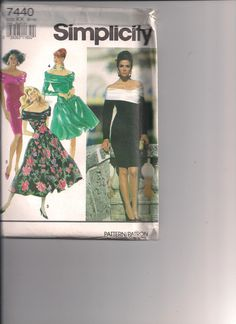 Simplicity Pattern 7440 by ThatsSewSandra on Etsy