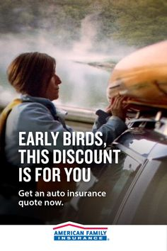 This discount is perfect for planners like you! Learn how you can qualify for our Early Bird Discount when you switch to American Family for your auto insurance. Harley Davidson Pictures, Harley Davidson Trike, Insurance Quotes, Car Insurance, Family Life Insurance, Personal Injury Protection, Single Cab Trucks, Bodily Injury, California Kids