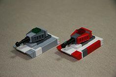 MBT's (Multihawk) Tags: scale lego military mini micro future coalition nano mbt tanks warfare microscale microspacetopia
