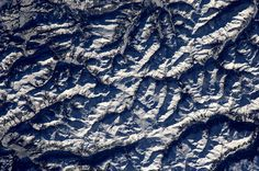 mountains from space  André Kuipers