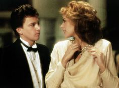 """Andrew McCarthy and Kim Cattrall from """"Mannequin"""" (1987)"""