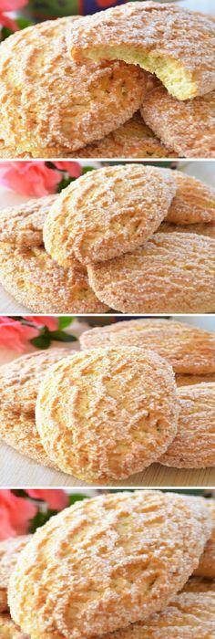 Galletas de crema de queso y limón Mexican Food Recipes, Sweet Recipes, Cookie Recipes, Mexican Cookies, Mexican Bread, Biscuits, Bite Size Desserts, Bread Cake, Sweet And Salty
