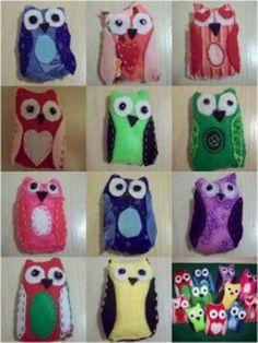 Hand Sewn Felt Owls   FaveCrafts.com