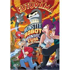 Amazon.com: Futurama - Monster Robot Maniac Fun Collection: Billy West, John DiMaggio, Katey Sagal, Tress MacNeille, Phil LaMarr, Maurice LaMarche, Lauren Tom, David Herman, Frank Welker, Kath Soucie, Dawnn Lewis, Tom Kenny, Matt Groening: Movies & TV