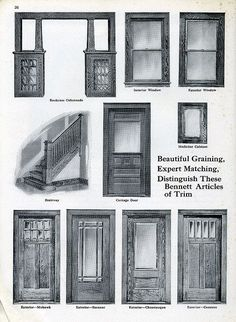 1920's guide to craftsman style entry doors