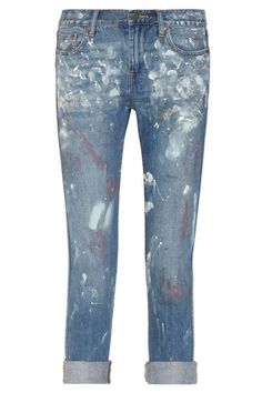 instead of spending $198 on these J. Crew jeans, i'll just wear the paint splattered jeans i already own, thanks!