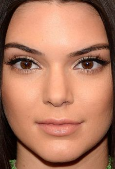 Close-up of Kendall Jenner at the 2015 Met Ball. http://beautyeditor.ca/2015/05/06/met-ball-2015