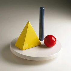 Lucio del Pezzo - Progetto per una Ceramica