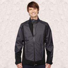 Ash City-North End-COMMUTE MENS 3-LAYER LIGHT BONDED TWO-TONE SOFT SHELL