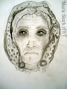 There was an old woman by MarieStarkART on Etsy