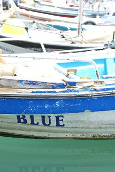 blue by wood & wool stool, via Flickr 50 Shades, Shades Of Blue, Fishing Crafts, Flying Scotsman, Sail Away, Girl Scouts, Strand, Planes, Boats