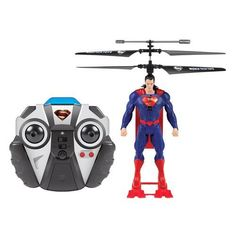 World Tech Toys DC Comics Superman 2 Channel IR RC Helicopter