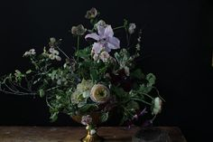 Dutch masters arrangement by Little.Flower.School, via Flickr