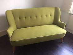 Sofa, Danish Mid century, Green    eBay