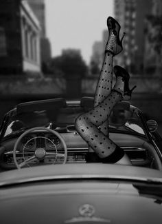 i want to do this outside my mans impala when he finishes it high heels and stockings would go great on the wall :-)