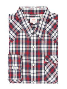 Bei ➧ P&C Freizeithemden von LEVI-S ✓ Jetzt LEVI-S Regular Fit Freizeithemd aus Baumwolle in Rot online kaufen ✓ 4009892