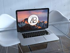 Free Realistic Retina MacBook Pro Mockup by Anthony Boyd Graphics. Use this MacBook Pro PSD to showcase your Mac OS app designs. 2800 x 2100 Pixels. Free Macbook Pro, Macbook Pro Retina, App Design, Free Design, Macbook Mockup, Free Mockup Templates, Free Photoshop, Business Card Mock Up, Glass Table