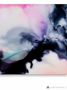 Abstract Art : Marta Spendowska Many Waters Cannot Quench Love