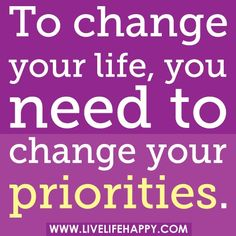 Are Your Priorities Really PRIORITIES? http://livewell360.com/2012/04/are-your-priorities-really-priorities/ #fitness #workout #weightloss