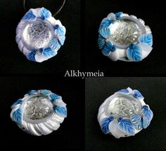 Dew Drop in Blue and White M4 by Alkhymeia.deviantart.com on @deviantART