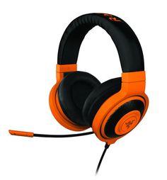 Razer Kraken Pro - Over-Ear PC Headset (Musik und Gaming) neon blau Kraken, Neon Azul, Neon Bleu, Pro Gaming Headset, Gaming Headphones, Razer Gaming, Sports Headphones, Beats By Dre, Smartwatch