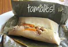 Carolyn in Carolina: How to make Costa Rican tamales!