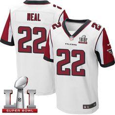 e7cd56fe1f3 Nike Falcons Deion Jones White Super Bowl LI 51 Men s Stitched NFL Elite  Jersey And Taco Charlton 97 jersey