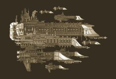 View the Mod DB Warhammer Fan Group image The Imperial Fleet Warhammer 40k Art, Warhammer Fantasy, Warhammer Armies, Battle Fleet, Battlefleet Gothic, Spaceship Art, Far Future, Fantasy Battle, Gothic Models