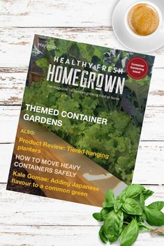Get the May issue of the Healthy Fresh Homegrown Magazine,the magazine for families growing food at home. Filled with useful tips for container gardening! #containergardening #gardenmagazine Gardening Books, Container Gardening, Balcony Gardening, Planting Vegetables, Growing Vegetables, Vegetable Garden, Fresh Tomato Soup, Railing Planters, Tiered Planter
