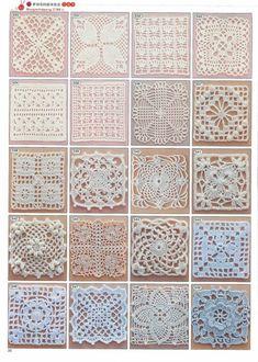 HER TELDEN HOBİ: motifler ve motiflerden oluşan sehpa örtüleri