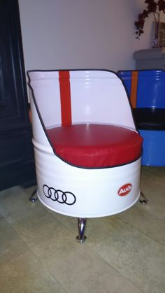 Recycled 55 gallon drum